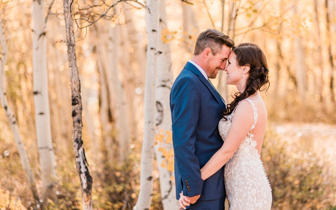 Trista & Daren | Crested Butte Wedding at the Woods Walk