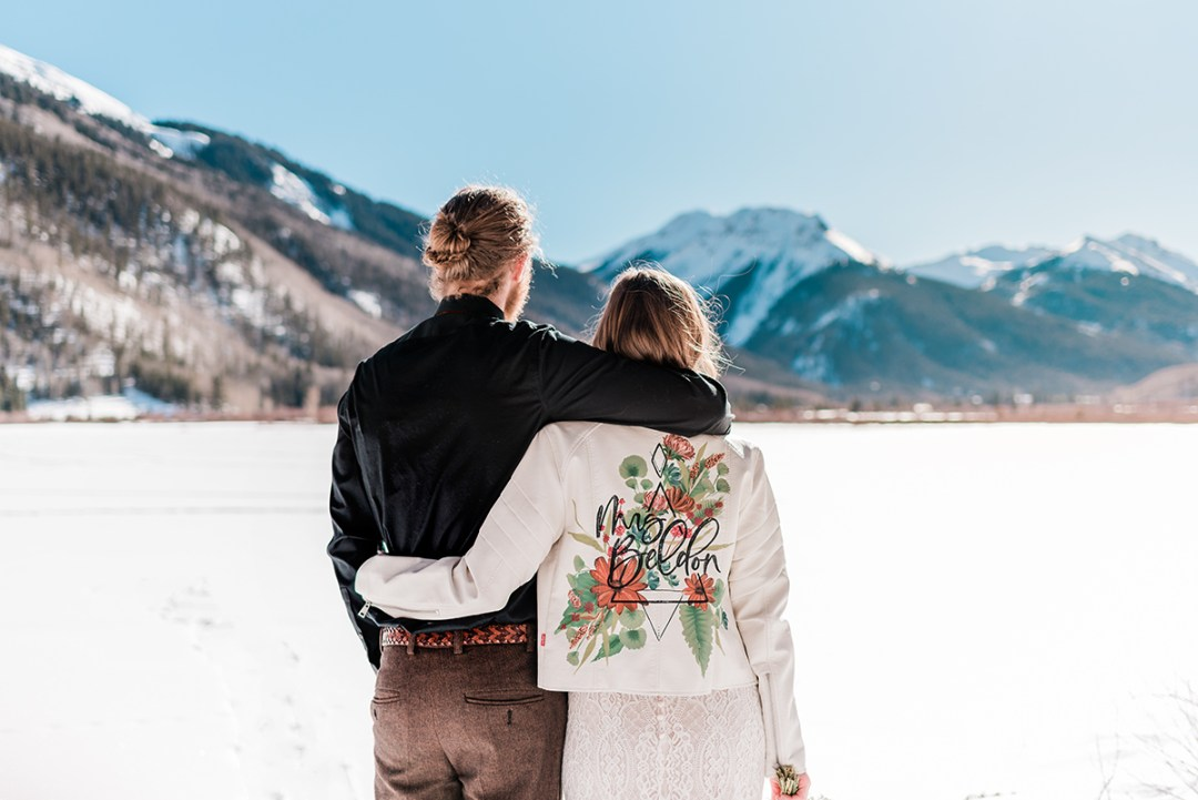 Nate & CeCe | Winter Elopement Near Ouray
