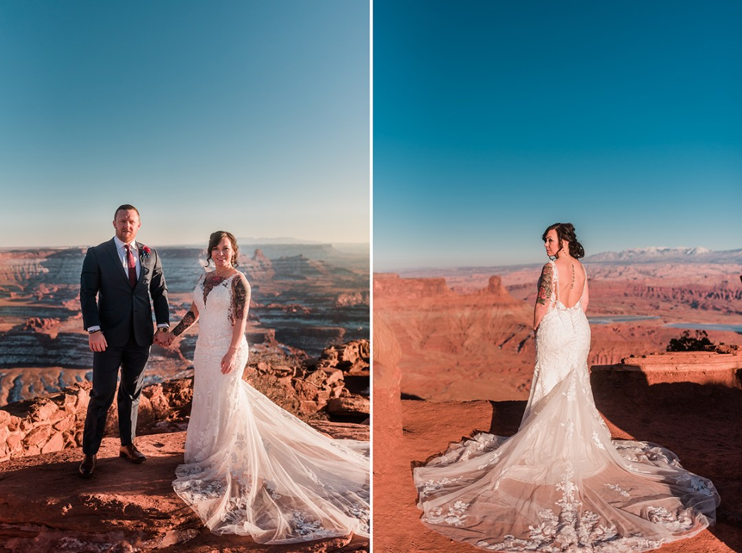 Misty & Randall | Moab Elopement at Dead Horse Point
