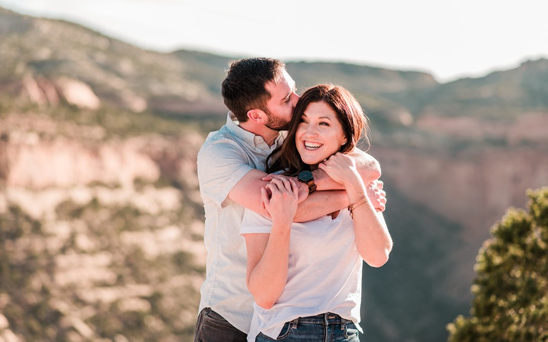 Kelsey & Michael | Colorado National Monument Engagement Photos
