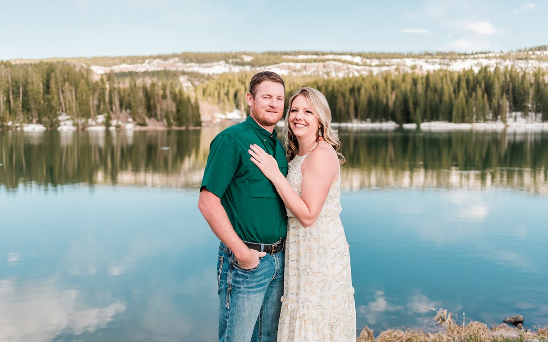 Deanne & Pete | Engagement Photos on the Grand Mesa