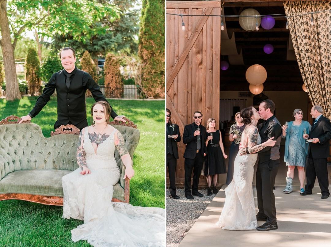 Amy & Elliot | Micro Wedding at Amy's Courtyard