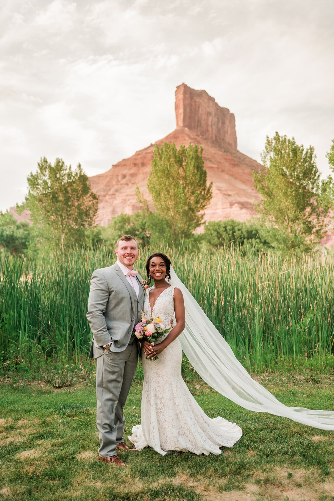 Austin & Ayana   Gateway Canyons Resort Wedding