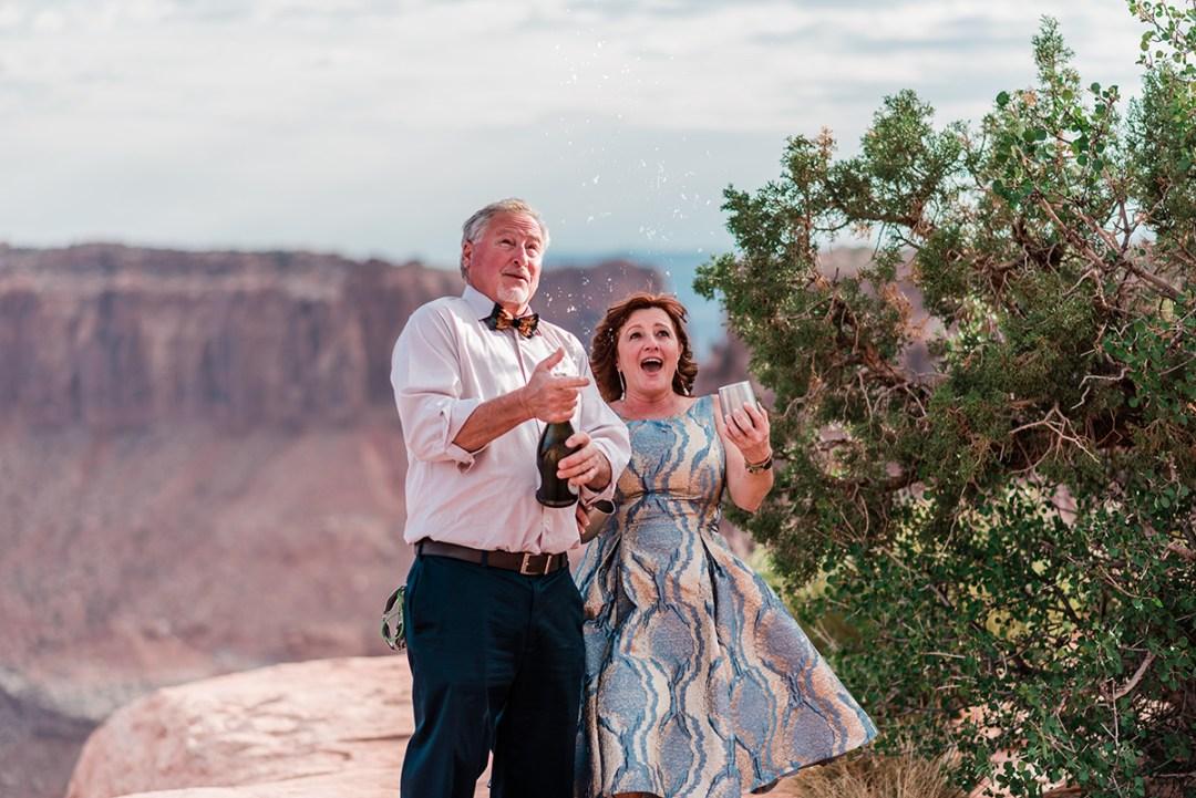 Julie & Bobby   Moab Elopement at Dead Horse Point