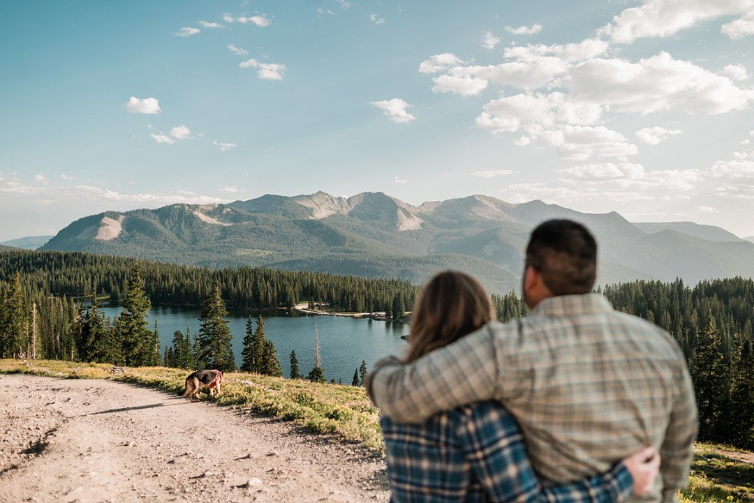 Ivan & Carissa | Casual Elopement in Crested Butte