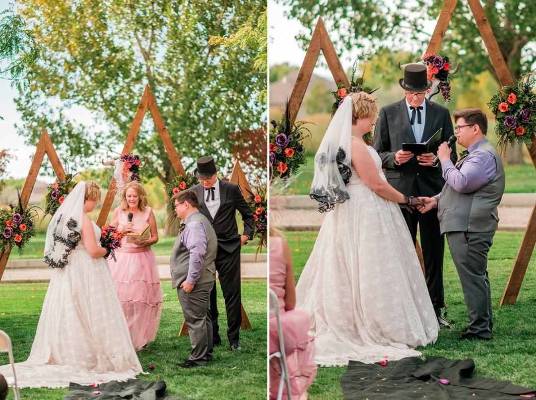 Stevie & Clinton | Halloween Themed Wedding