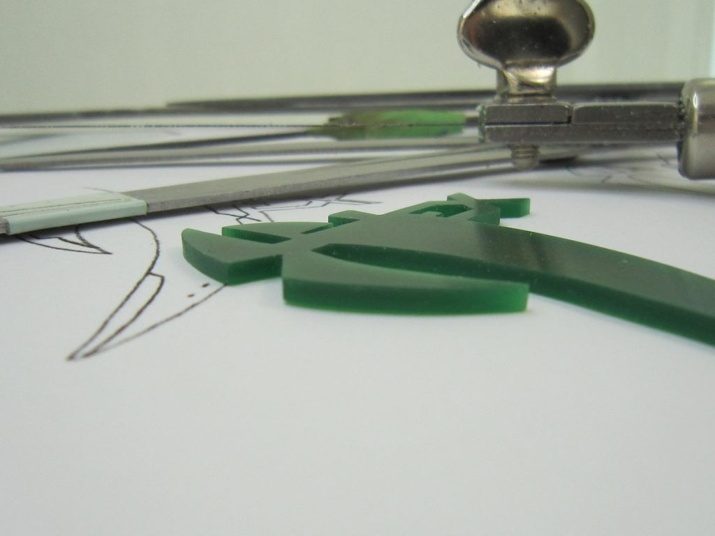 Green wax with tools