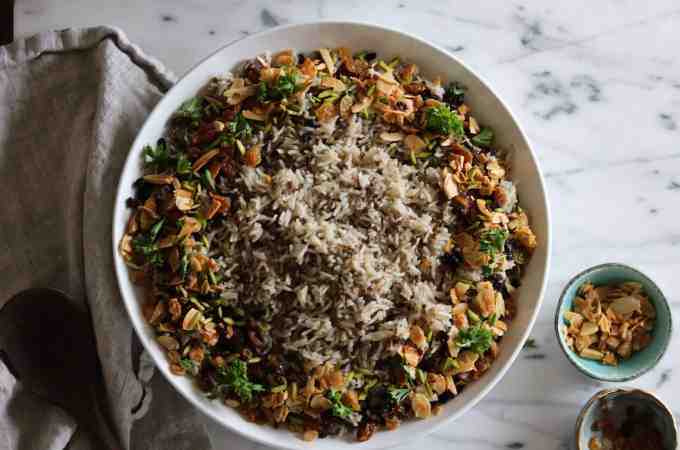 Hashweh Lebanese Spiced Rice
