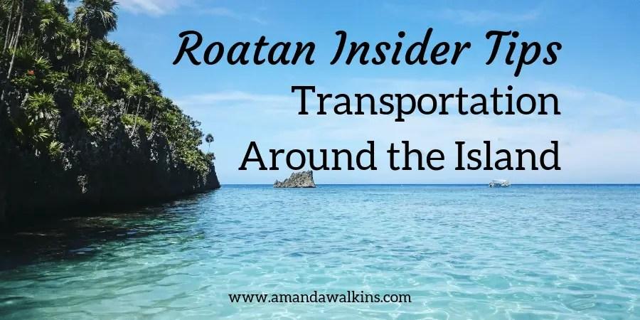 Roatan island transportation information