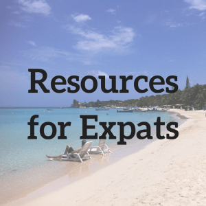 expat resources from expat writer Amanda Walkins