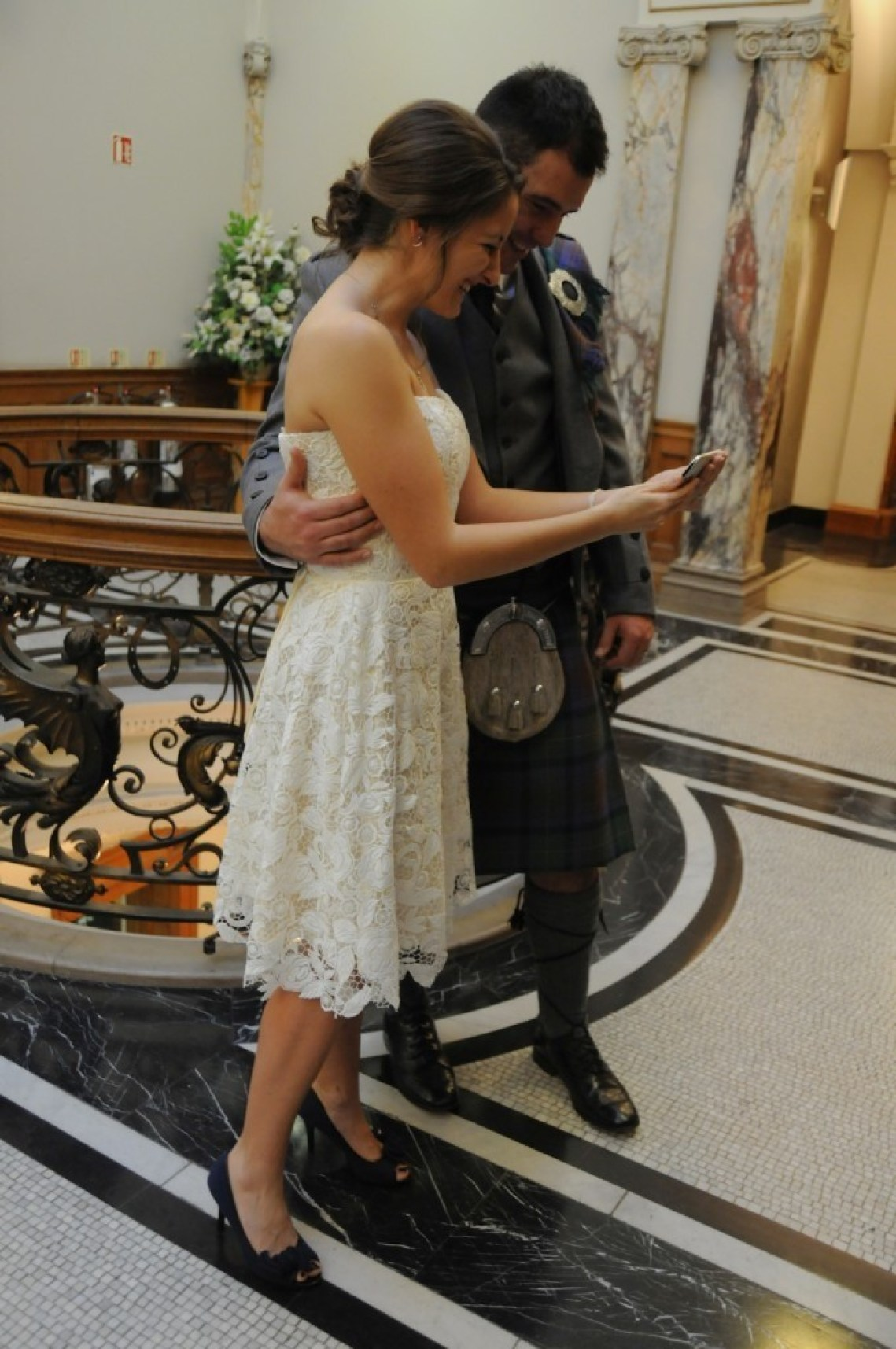 Skype wedding Edinburgh photographer