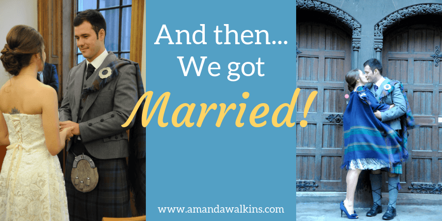 Amanda Walkins Jonathan Clarkin married