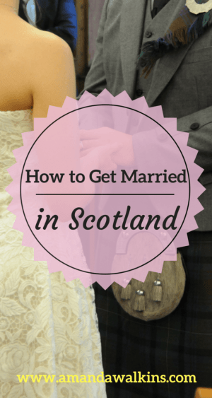 How to get married in Scotland if you're a US Citizen (Photo credit Carolyn Henry Photography)