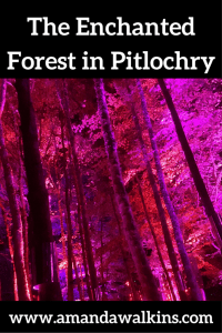 Visit The Enchanted Forest in Pitlochry