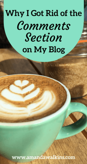 Here's why I - a travel blogger - got rid of the comments section on my blog.