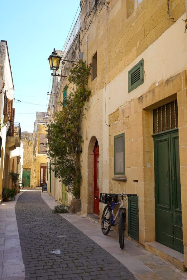 Beautiful streets of Victoria Gozo Malta