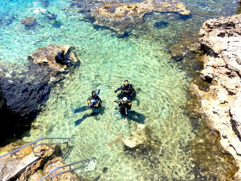 Scuba diving in Malta