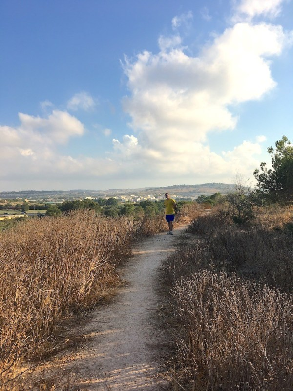Expat life in Malta - walking around Qawra from Bugibba