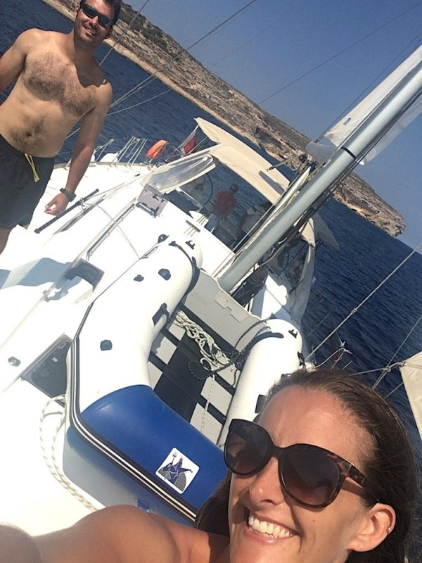 Expats charter a sailboat in Malta
