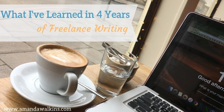What I've Learned in 4 Years of Freelance Writing