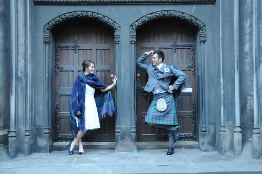 Edinburgh wedding Amanda Walkins and Jonathan Clarkin Carolyn Henry Photography