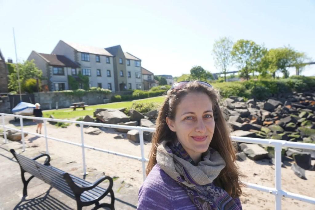 Amanda Walkins American expat in Scotland