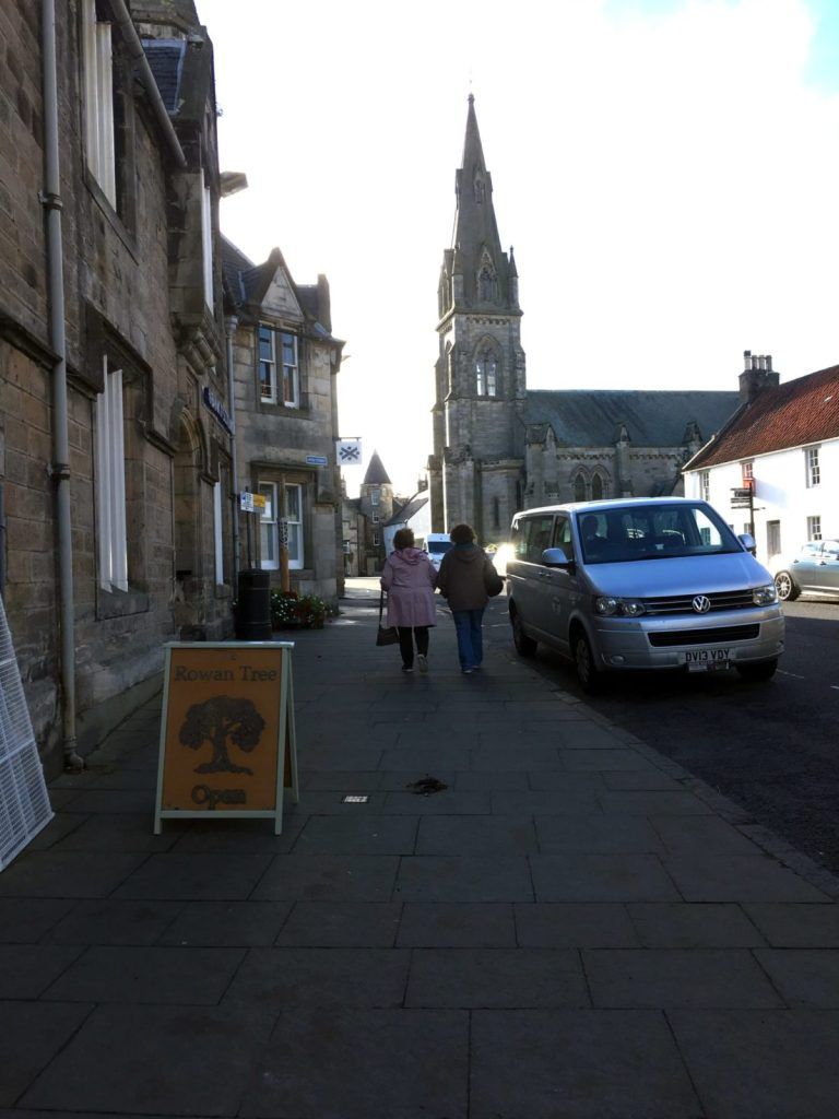Village of Falkland in Fife in Scotland known as old Inverness in Outlander