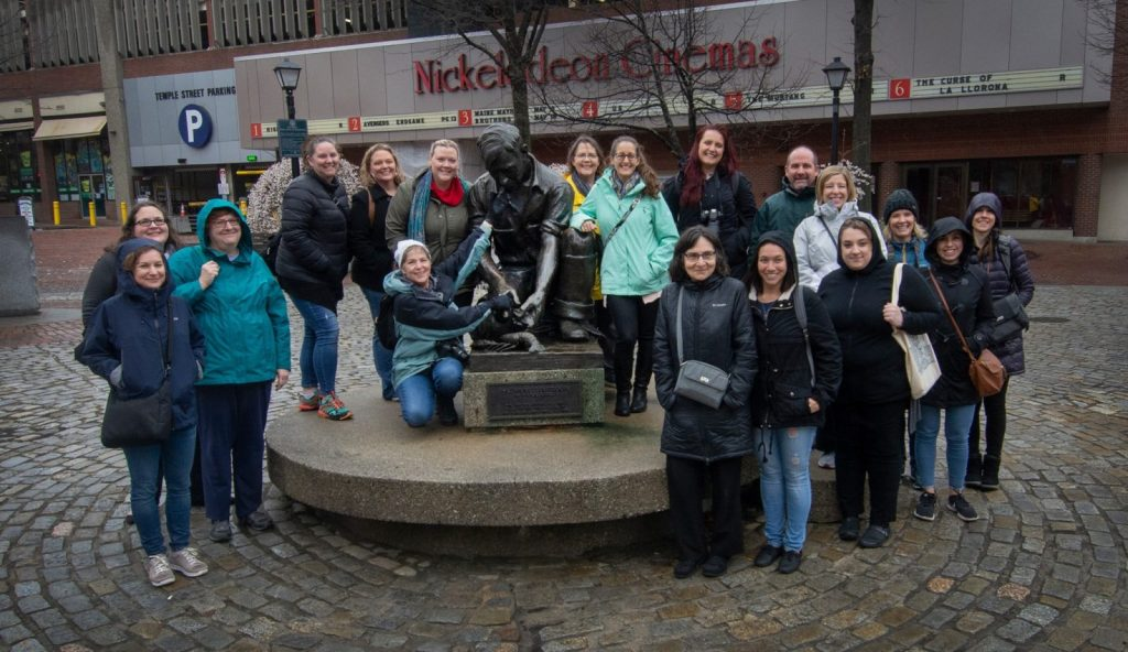 WITS travel conference historical walking tour of Portland Maine