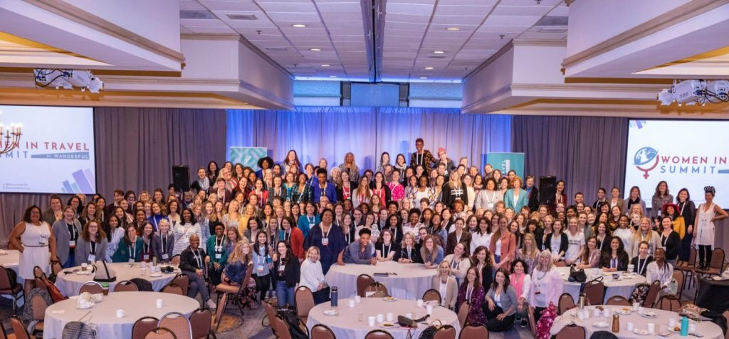 Women in Travel Summit group photo in Portland Maine 2019