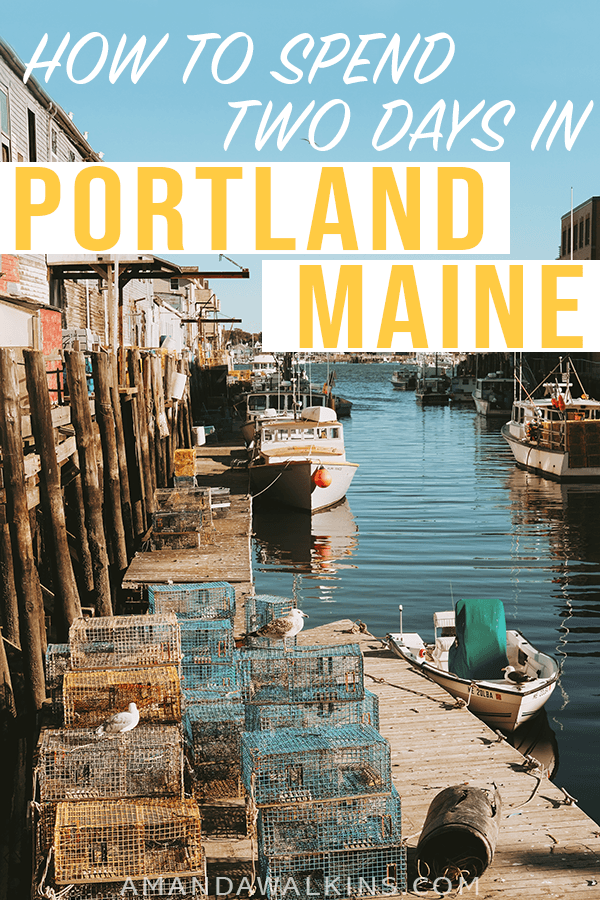 Spend a weekend in Portland Maine to enjoy the dining drinking and history