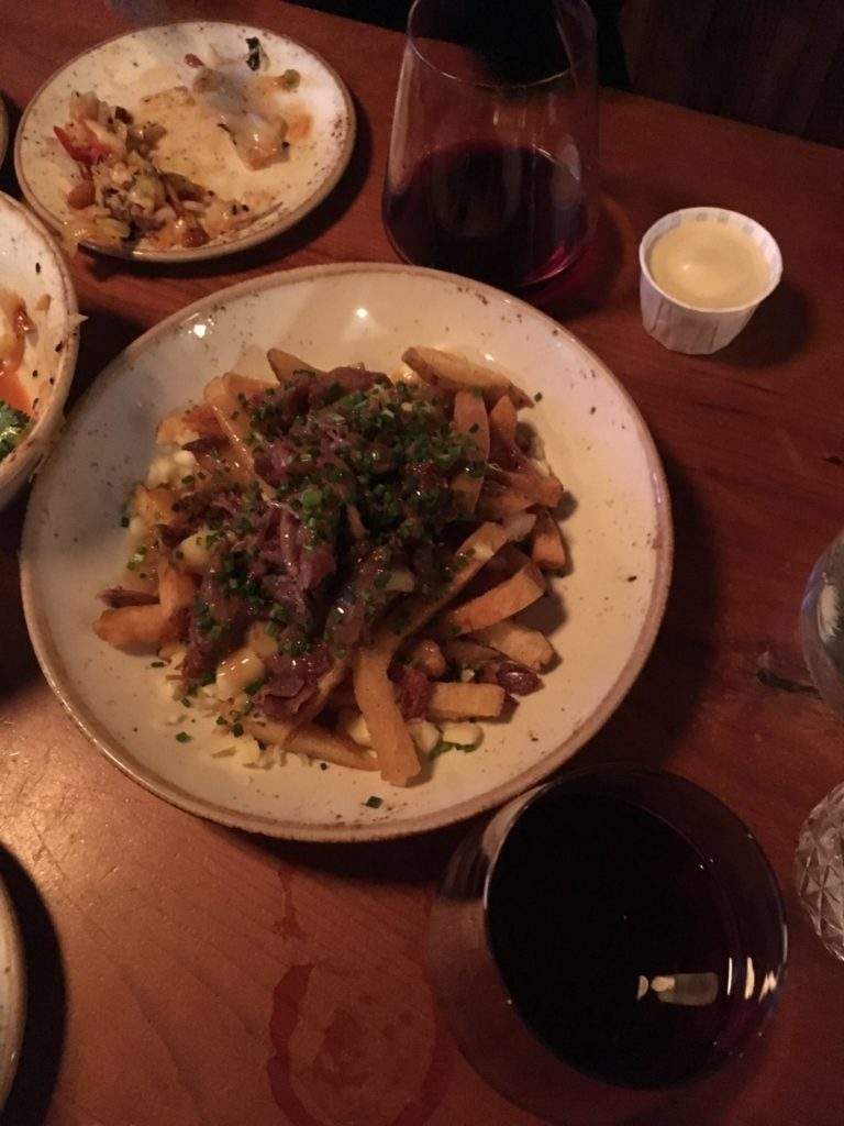 Poutine at Duckfat in Portland ME
