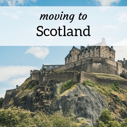 square header image for moving to Scotland as an expat