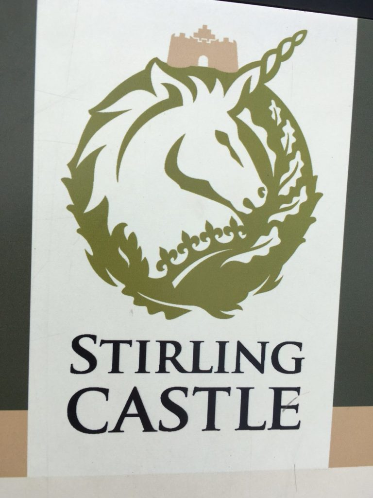 Stirling Castle is an easy day trip from Edinburgh