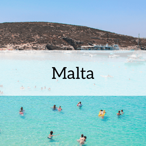 Malta travel information header image