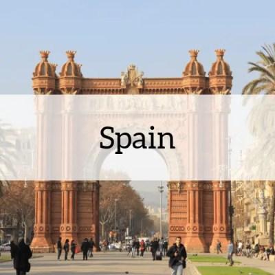 Spain travel Amanda Walkins