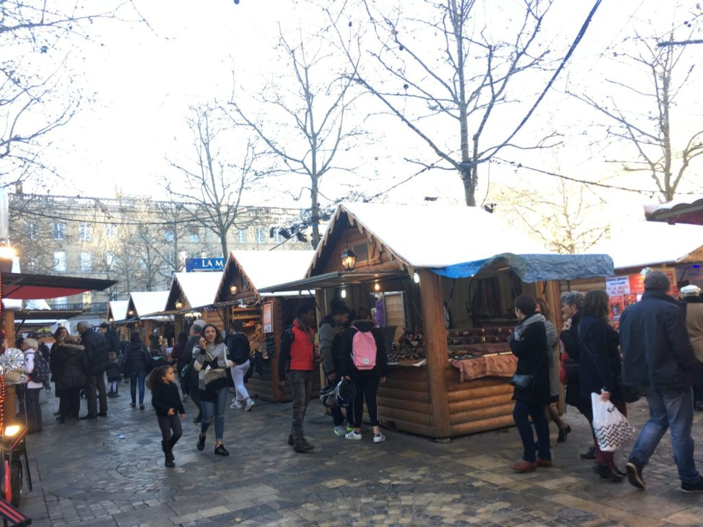winter market in Carcassonne