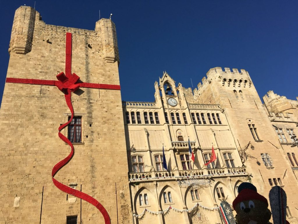 Narbonne at Christmas time