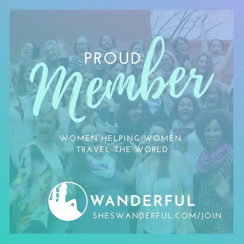 Proud Member of Wanderful badge