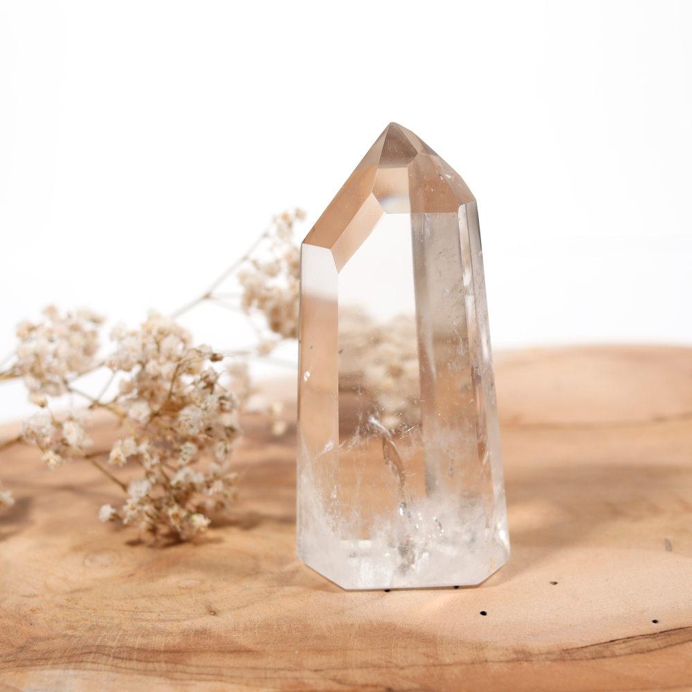 Pointe de cristal de roche, modèle 4
