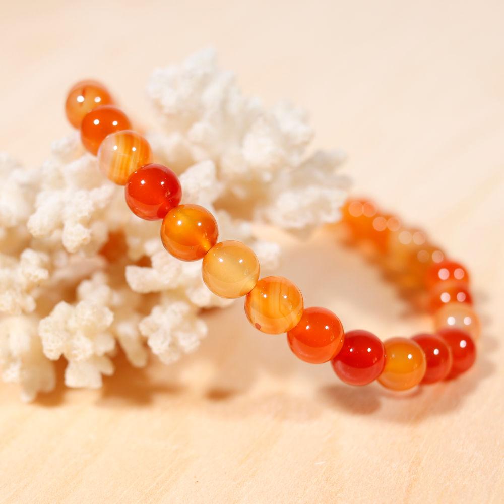 Bracelet en cornaline