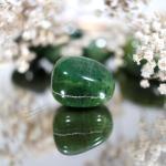 Jade nephrite roulé