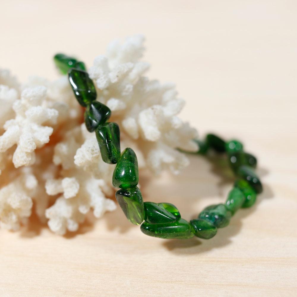 Bracelet en diopside