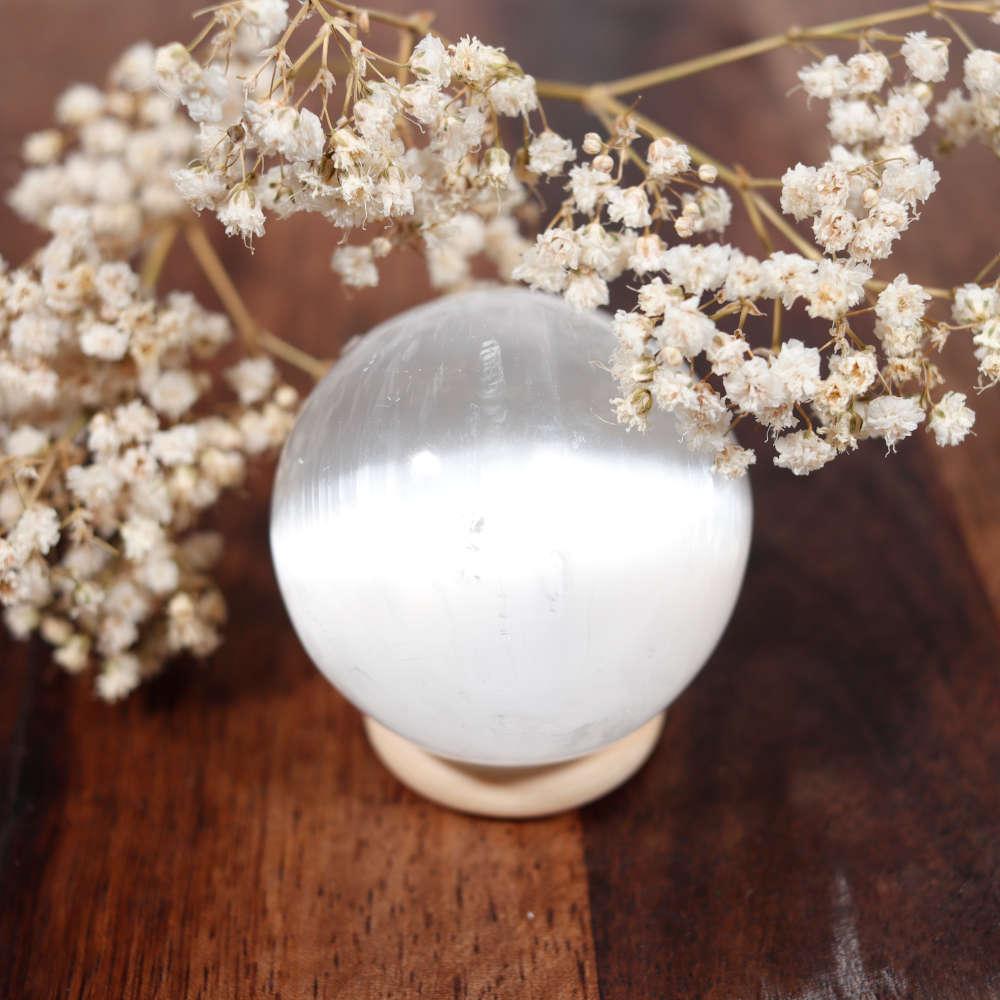 Sélection de sphère en sélénite