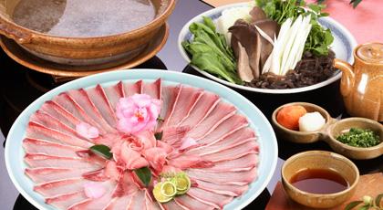 Buri-shabu(Yellowtail hot pot)(December to February)