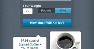 App para saber cuándo dejar de tomar café