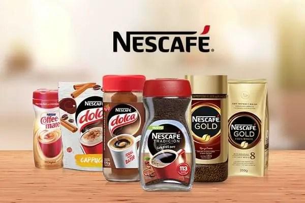 Nescafé - Línea de café soluble de Nestlé