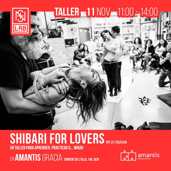 shibari, taller barcelona, bdsm