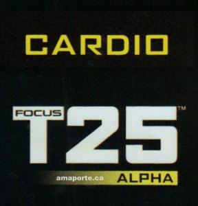 Focus T25 Alpha Cardio logo