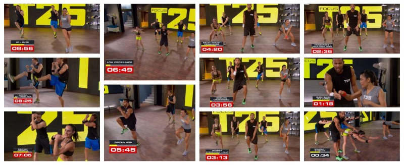 Focus T25  Alpha Speed 1.0 last 9 mins.