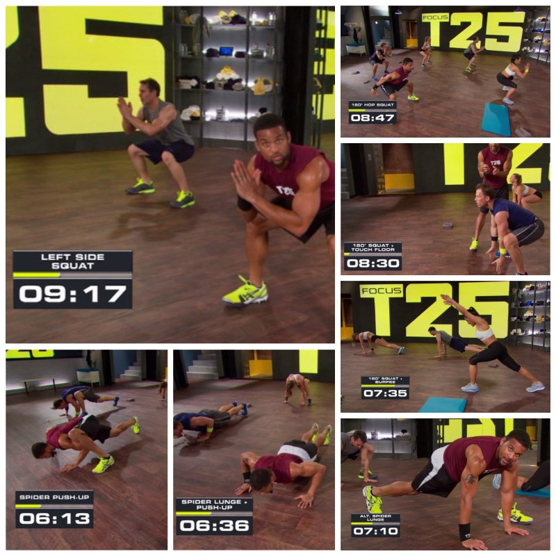FocusT25 Total Body Circuit 5 mins